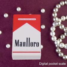 Cigarette Case Digital Scale Mini Pocket 200g/0.01g Diamond Jewelry Weight Gram