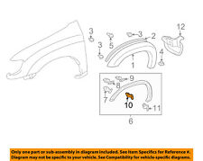 TOYOTA OEM 00-02 Tundra Fender-Wheel Fender Flare Molding Retainer 753920C020