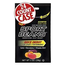Jelly Belly Sport Beans Energizing - 24 count case - Assorted (natural flavors)