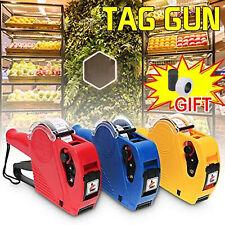 Mx5500 Eos 8 Digits Price Tag Gun Labeler Labeller Pricing Gun Kit for Shop Home