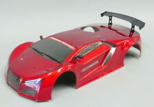 1/10 RC Car RED SPORT Body SHELL Painted + Finished Red Cat NITRO 200mm W/ HOLE