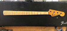 Original 1975 Fender Jazz Bass 4 bolt maple neck w/ maple fretboard super nice!