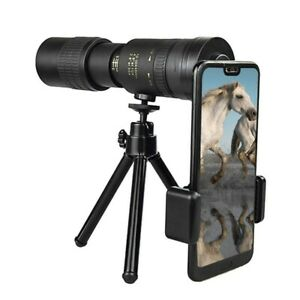 10-300x Super Telephoto Lens Monocular Telescope for Smart Phones Travel Hunting
