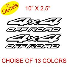 4x4 Off Road Vinilo Stickers Calcomanías gráficos X2 (Diseño 3) 13 Colores A Elegir