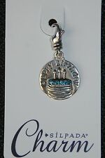 SILPADA Sterling Silver Charm Collection - Birthday Girl - C2559 - NIB!