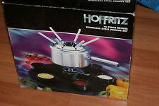 Hoffritz 16 piece stainless steel fondue set Free Shipping