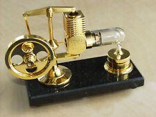 >vergoldet< HOG Stirling Heißluftmotor_Dampfmaschine NEU Limited Edition >gold<
