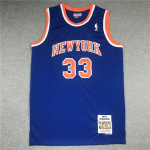 33# Patrick Ewing New York Knicks 1991-92 Classics Men's Swingman Jersey Blue