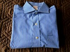 Men's Brooks Brothers Traditional fit Long sleeve Button Down shirt S 15.5- 34