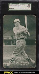 1926 Exhibits Rogers Hornsby SGC 2.5 GD+