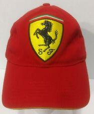 Ferrari Red Adjustable Baseball Cap