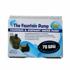 LM Danner Fountain Pump Magnetic Drive Submersible Pump SP-70 (70 GPH) with 6' C