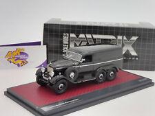 """Matrix 41302-082 # Mercedes Benz G4 Kastenwagen Baujahr 1939 """" schwarz """" 1:43"""