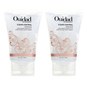 Ouidad Clear Control Pomade 4 oz ( Pack of 2 ) New | Fresh | Free Shipping!