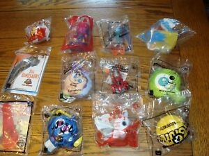 Lot of 12 McDonalds Happy Meal Toys - Super Mario, TY, Toy Story - New & Sealed