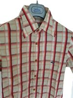 Mens MAN by VIVIENNE WESTWOOD short sleeve shirt size II/small. RRP £275.