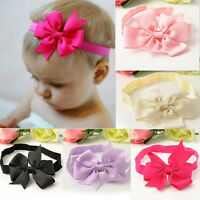 Wholesale Girls Toddler Cute Bow Flower Headband Hair Band Headwear Accessories