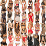 Charm Women Sexy Lingerie Lace Dress G-string Underwear Babydoll Sleepwear Lot