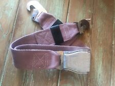 1 Commercial Airline Aircraft airplane Used Passenger Seat belt Memorabilia Dc-9