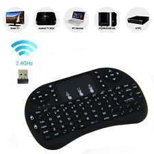 Gextek 2.4GHz Wireless Keyboard with Touchpad Remote Control f/ Smart TV BOX PC