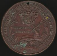 1914 Queen Mary & King George V Royal Visit To Birkenhead Medal | Pennies2Pounds
