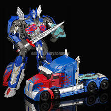 """Kid Gift Toy Movie 5  The Last Knight Large Optimus Prime 8"""" Action Figure Truck"""