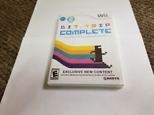 Bit.Trip Complete (Nintendo Wii, 2011) new