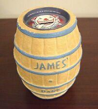 Original Clown Barrel Bank, James Salt Water Taffy, Atlantic City N.J., 1950's