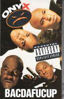 Onyx Bacdafucup 1993 Cassette Tape Album Hiphop Rap
