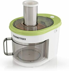 GOURMETmaxx Spiralschneider 1,5 L Obst + Gemüse elektrisch + 4 Einsätze NEU,OVP