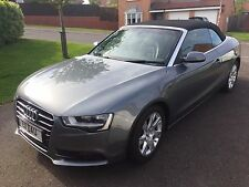 AUDI A5 CONVERTIBLE 2.0TDI SE 2DR 2013 - FULL SERVICE HISTORY & MOT REDUCED !!