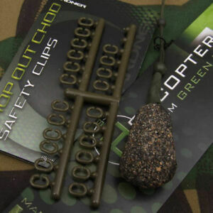 Gardner Tackle Drop Out Chod Safety Clips - Carp Tench Bream Coarse Fishing