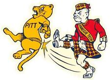 Carnegie Tech  vs. Pitt  - University  Vintage-Looking Travel Decal  Sticker