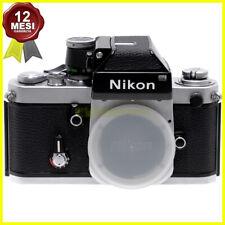 Fotocamera Nikon F2 con Photomic DP1 reflex professionale a pellicola usata.