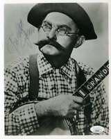 Grandpa Jones JSA Coa Signed 8x10 Photo Autograph