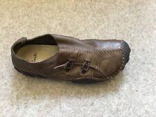 *Clarks Momo Spirit Mens Ebony / Dark Brown Leather Shoes in UK 9 ( EU43 / US10)