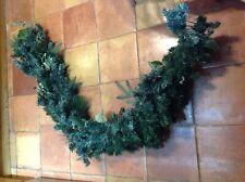 Light up Christmas garland 6 ft long