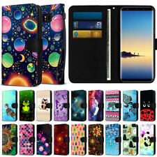 Fashionable Wallet Case Cover with Design for Samsung Galaxy Note 8 N950 6.3""