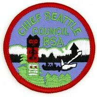 Chief Seattle Council Patch CP