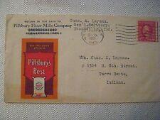Pillsbury Flour Mills Co., Evansville, IN., Illustrated Advertising Cover