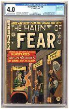 Haunt of Fear 17 (#3) (CGC 4.0) Crypt of Terror; Vault of Horror; Used in SOTI