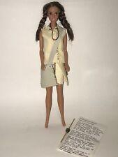 BARBIE TERESA 1990s OOAK Custom Outfit Prehistoric Times Cave Woman DOLL