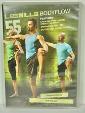 Les Mills Body Flow Balance 55 Complete DVD, CD, Case and Notes