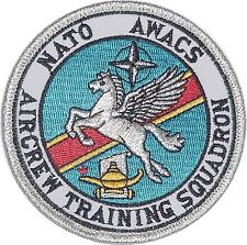 Luftwaffe Aufnäher Patch NATO AWACS E-3A Aircrew Training Squadron .......A4955K