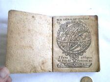 RARE LA SIBILLA CELESTE EFFEMERIDE TORINO 1762