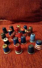 COLLECTION OF 20 VINTAGE WOODSETTON STANHOPE THIMBLES