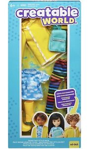 Mattel Creatable World Rainy Day Style Pack RD-065 Doll Clothes Accessories New.
