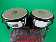 "Toca Bongos Mini 4"" and 5"" Fiberglass Vintage Players Series Child Size"