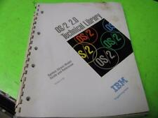IBM OS/2 VERSION 2.0 TECHNICAL LIBRARY SYSTEM OBJECT MODEL GUIDE & REFERENCE