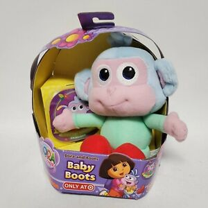 Dora Baby Boots Target Exclusive Fisher Price Plush with Storybook New
